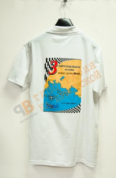 нанесение логотипа шелкографией печать футболки